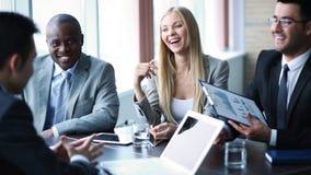 Oddziałać wzajemnie przy spotkaniem Obraz Stock