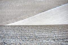 oddziaływania wzorów rezultata śniegu słońca wiatr Zdjęcia Royalty Free