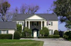 oddzielne luksusowy dom zdjęcie stock