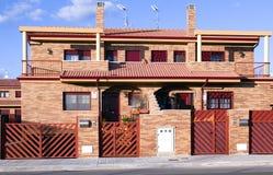 oddzielni domy oddzielny Fotografia Stock
