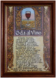 Ode till vin Arkivfoton