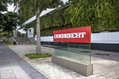 Odebrecht公司 免版税库存照片