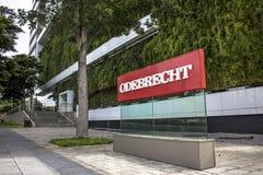 Odebrecht公司 免版税图库摄影