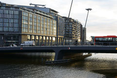 Odebrug bridge Amsterdam Stock Image
