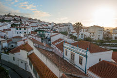 Odeceixe at dusk, Algarve, Portugal Royalty Free Stock Photo