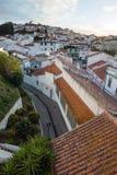 Odeceixe at dusk, Algarve, Portugal Stock Images