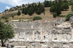 Odeion Ephesus Obrazy Royalty Free