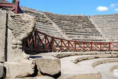 Odeion the small theater. Pompeii Stock Photography