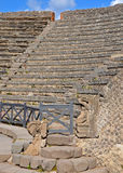 Odeion (small theatre) in Pompeii Royalty Free Stock Photography