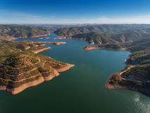 Odelouca dam in Monchique. Portugal. Stock Photography