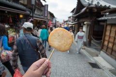 Oden στην οδό, ιαπωνικά τρόφιμα Στοκ Εικόνες