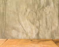 oden assoalhos e cimento Fotografia de Stock