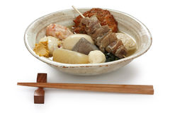 Oden , japanese food Stock Images