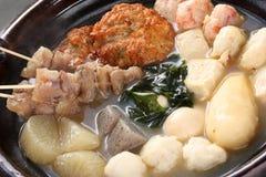 Oden, japanische Nahrung Lizenzfreie Stockbilder