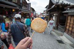 Oden on Street, Japanese Food Stock Photo