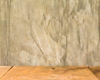 oden vloeren en cement Stock Fotografie