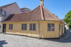 Odense Dani HC Andersen muzeum obraz royalty free