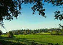 Odenwald del campo, Hesse, Alemania Fotografía de archivo libre de regalías