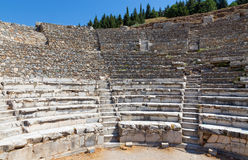 Odeon, altes Ephesus, die Türkei lizenzfreies stockbild