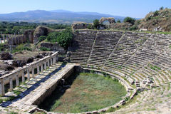 The Odeon at Aphrodisias Stock Images