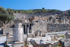 Odeon chez Ephesus Photo stock
