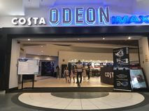 ODEON cinema hall stock image