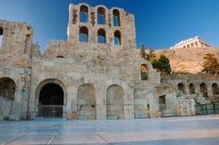 Odeon del Atticus di Herodes Fotografie Stock Libere da Diritti