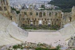 Odeon dell'attico di Herodes Fotografie Stock Libere da Diritti