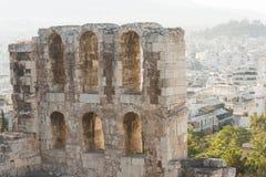 Odeon do Atticus de Herodes Foto de Stock Royalty Free