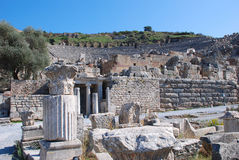 Odeon at Ephesus Stock Photo