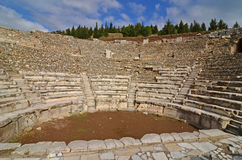 Odeon at Ephesus Royalty Free Stock Photo