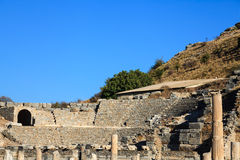 Odeon in ephesus Stock Image