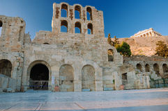 Odeon of Herodes Atticus Royalty Free Stock Photos