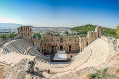 Odeon Herodes Atticus Obrazy Royalty Free