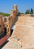 Odeon of Herodes Atticus in Acropolis, Greece Stock Image