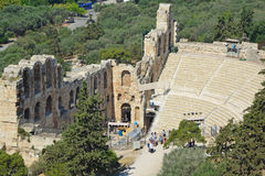 Odeon of Herodes Atticus Royalty Free Stock Image
