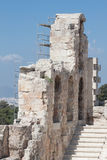 Odeon of Herodes Atticus Athens Greece Royalty Free Stock Photo