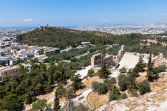 Odeon of Herodes Atticus Athens Greece Stock Photos