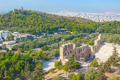 Odeon of Herodes Atticus Stock Photos