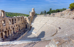 The Odeon of Herodes Atticus, Athens, Greece Stock Photos