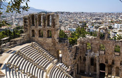 Odeon of Herodes Atticus, Athens Royalty Free Stock Photos