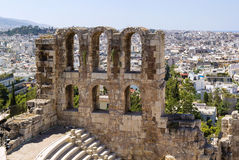 Odeon of Herodes Atticus, Athens Royalty Free Stock Image