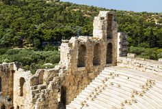 Odeon of Herodes Atticus, Athens Stock Photos
