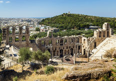 Odeon of Herodes Atticus, Athens Royalty Free Stock Photo