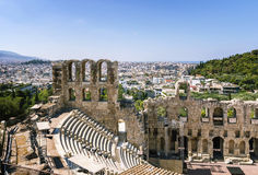 Odeon of Herodes Atticus, Athens Stock Photography