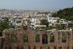 The Odeon of Herodes Atticus, Athens Stock Photography