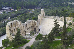Odeon of Herodes Atticus Royalty Free Stock Photo