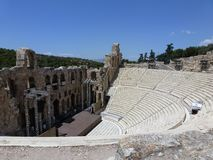 The Odeon Of Herodes Atticus, Herodion Stock Image