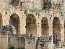 Odeon of Herodes Atticus Royalty Free Stock Photography