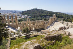 Odeon of Herodes Atticus Stock Images